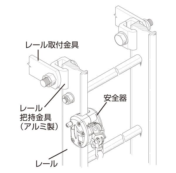 FM梯子外観形状図